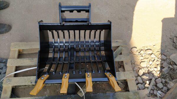 60 cm – Łyżka ażurowa do koparki do 1 tony