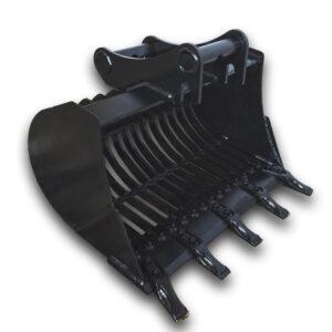 80 cm – Łyżka ażurowa do koparki 3,6 – 5,5 ton